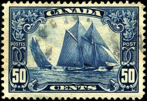 Bluenose Postage Stamp