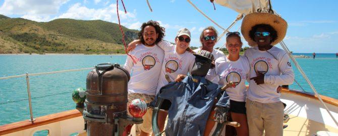 Schooner Ruth Crew