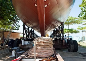 Schooner Ruth Launch Dec 6th 2014-5396